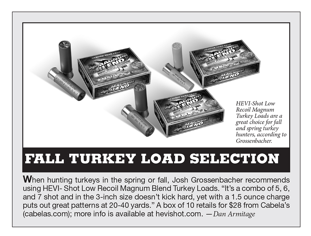 turkey load, turkey hunting, what load to use for turkey hunting