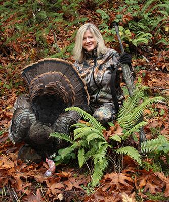 tiffany haugen, female turkey hunter, turkey hunting, dead tom turkey, wild turkey recipes