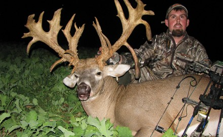 One day last October, the monster bucks of every hunter's dreams stepped into the food plot Stanley Suda was hunting.