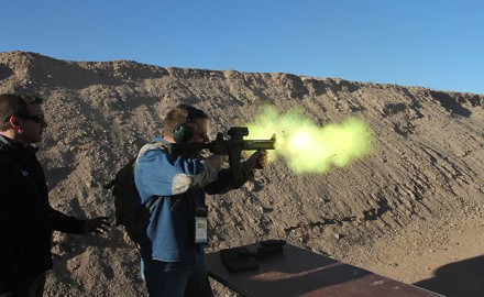 We got down and dirty with the hottest new guns at SHOT Show 2014 and these are the photos to prove it.