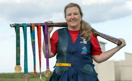 Kim Rhode has won five Olympic medals for double trap and skeet shooting, but we found out some things that might surprise you.
