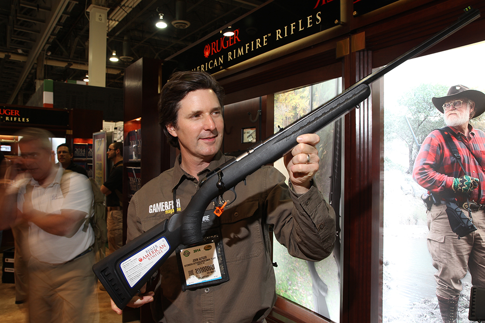 bolt aciton rifles, rimfire, ruger, best hunting guns, new hunting guns for 2014