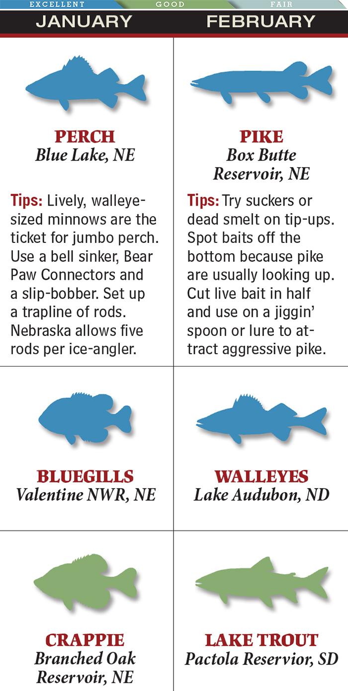 Great Plains: February Pike Fishing in Nebraska & More