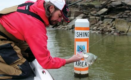 Missouri bass fishing, crappie fishing, largemouth bass, LMB, catching bass