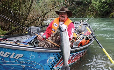 Let's take a look at the options available for February Steelhead Fishing in the Pacific Northwest.