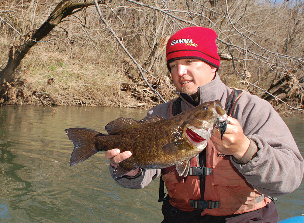 february bass fishing in west virginia game fish