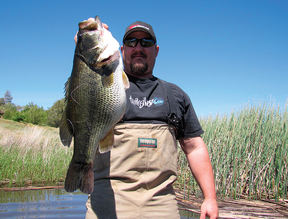 top places for bass fishing in southern california game