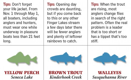 From lakes to rivers to reservoirs and which species to target, these are your best bets for spring fishing in Vermont.