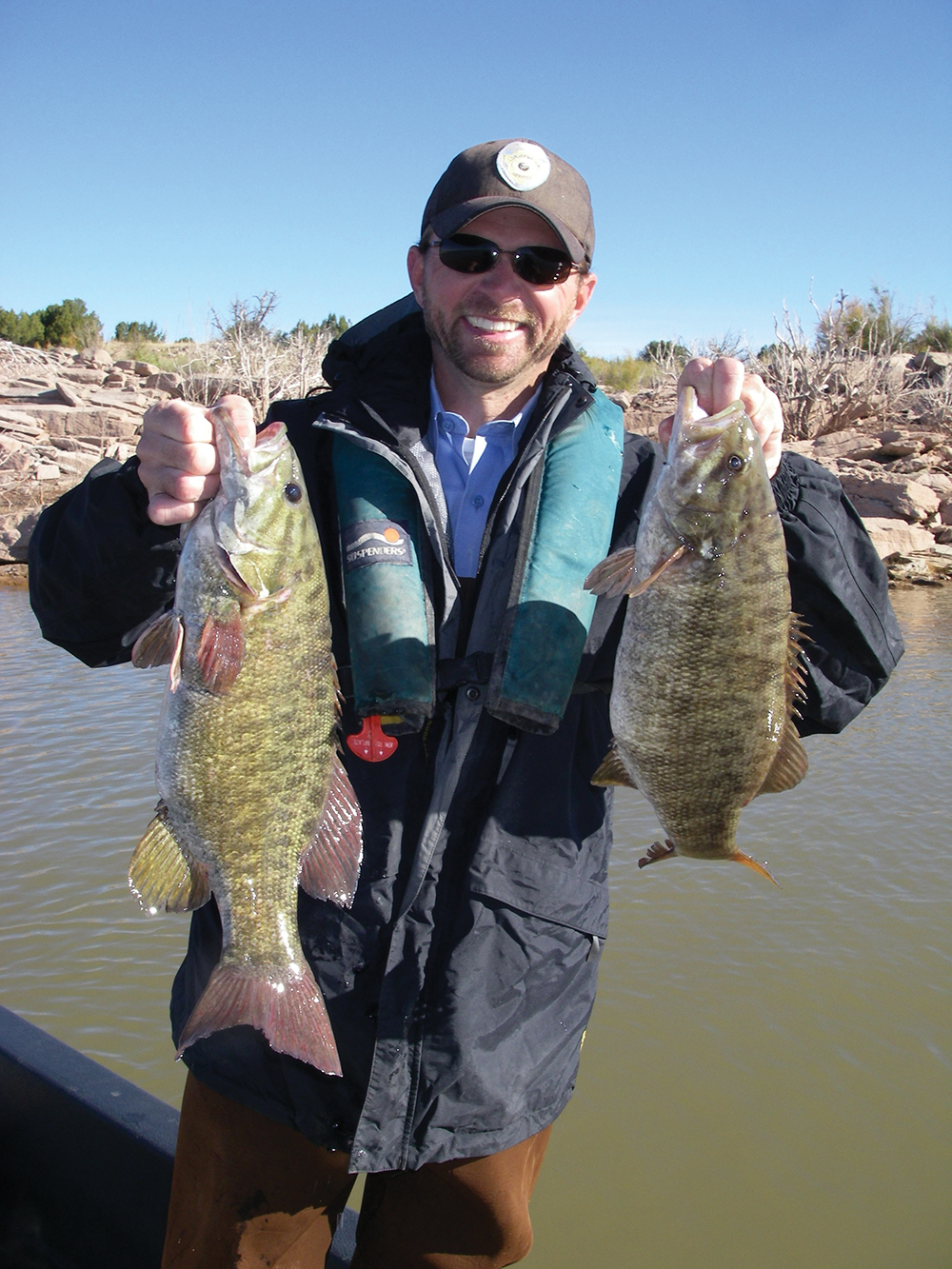 Top places for bass fishing in new mexico game fish for Conchas lake fishing report