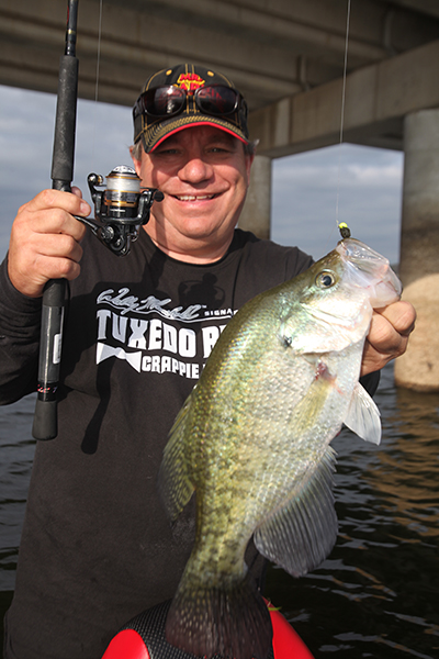 Exclusive guide catch more crappie than ever this year for Best crappie fishing times