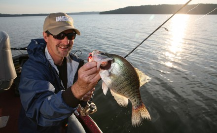 crappie fishing, john geiger, catching slabs