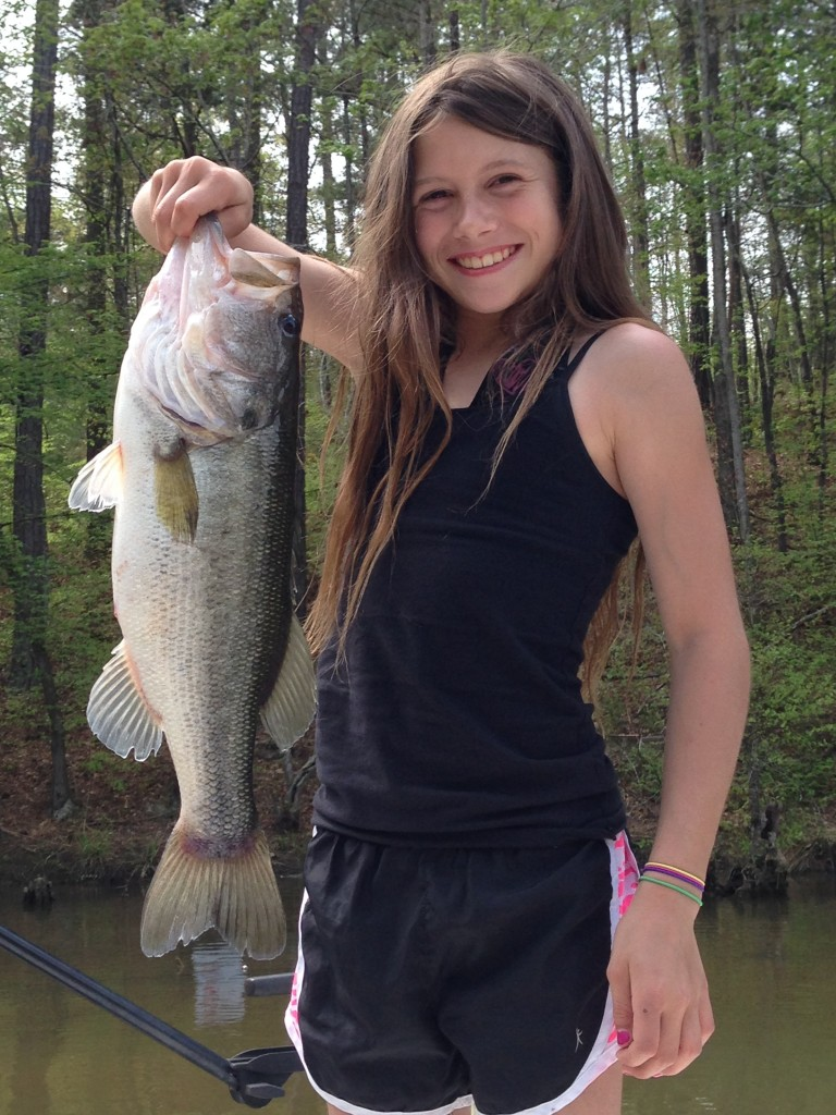 Katelyn minnihan wants to become a pro at 10 years old by for Jackson lake fishing