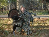 crossbow hunting, hunting turkeys with crossbows, crossbow turkey hunting