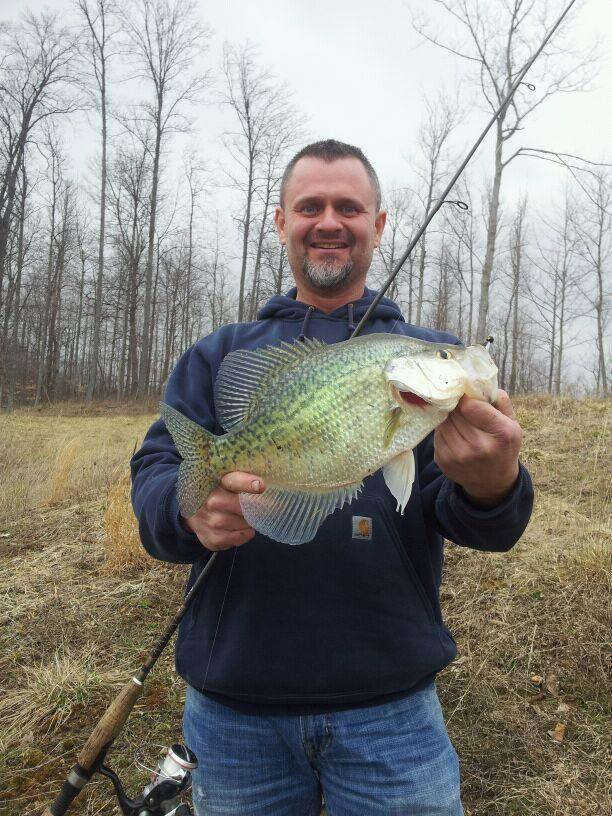 4 Pound Crappie Game Fish