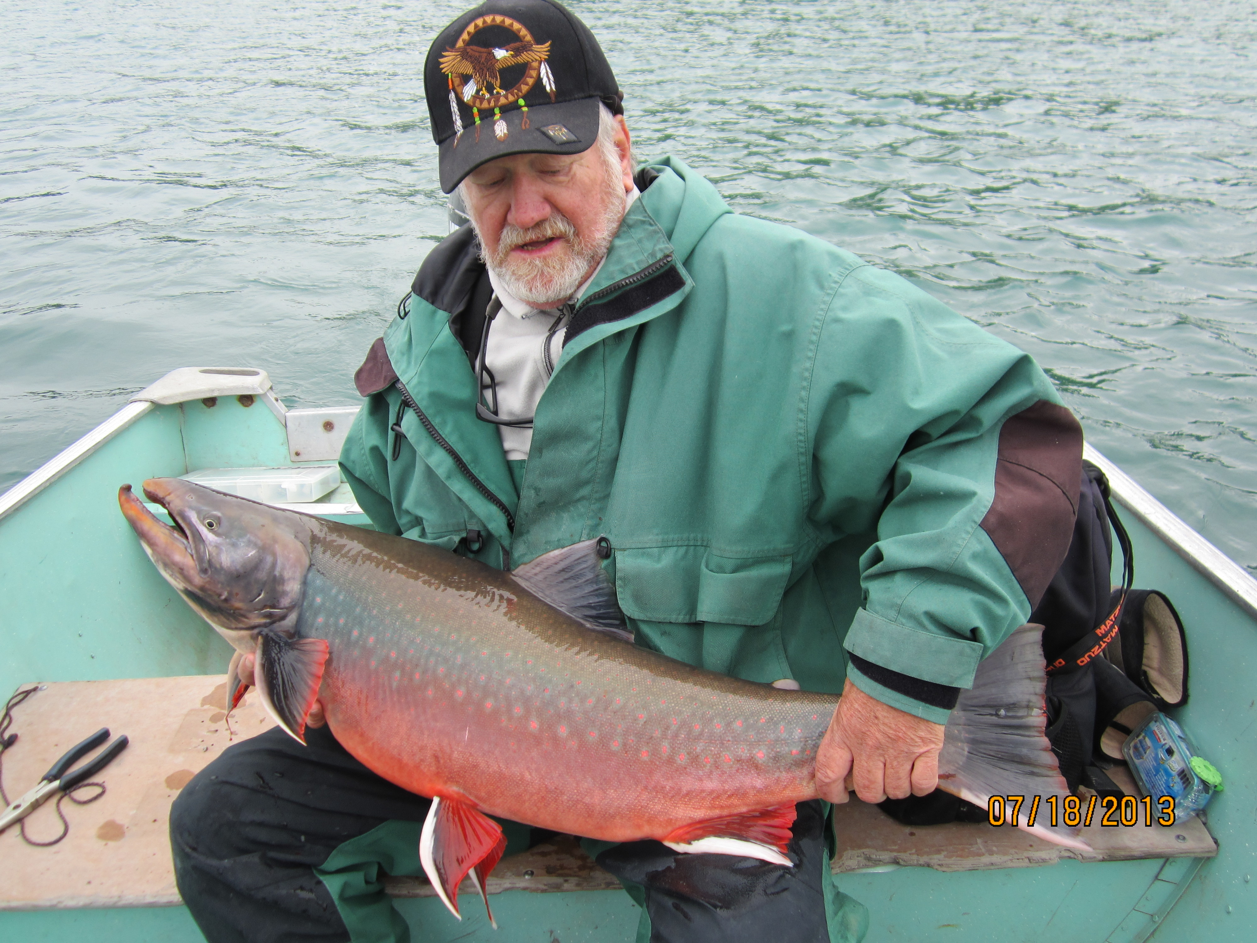 Arctic char from plummer 39 s tree river camp game fish for Arctic char fish