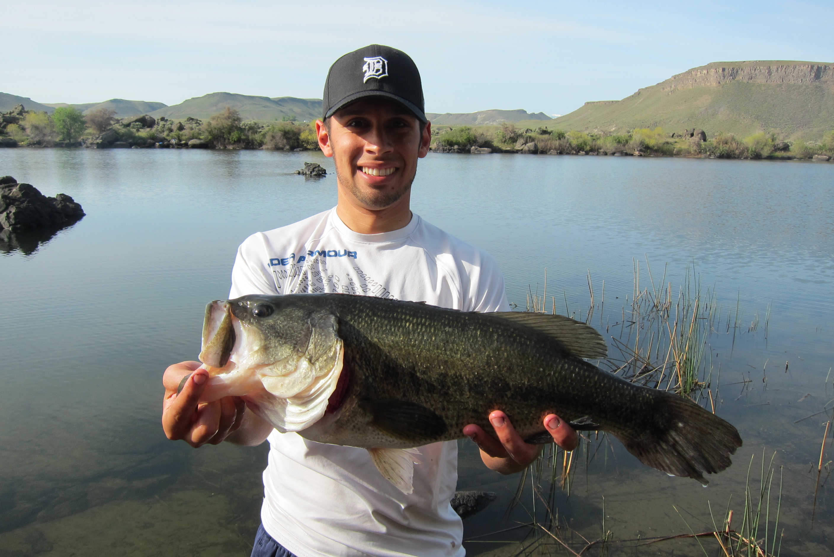 Idaho trophy bass game fish for Bass fishing idaho