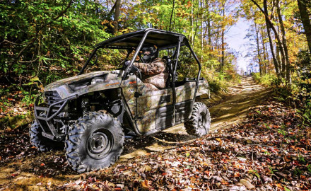 Today's sportsmen are using ATVs and UTVs to reach places off the beaten path for their hunting and fishing adventures.