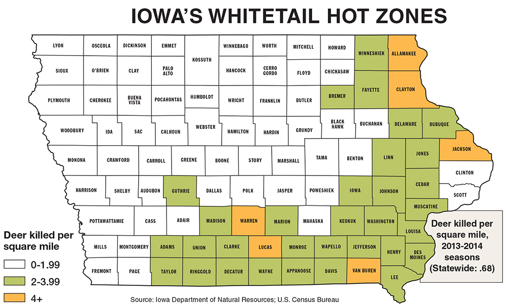 Iowa Deer Hunting Forecast for 2014 - Game & Fish