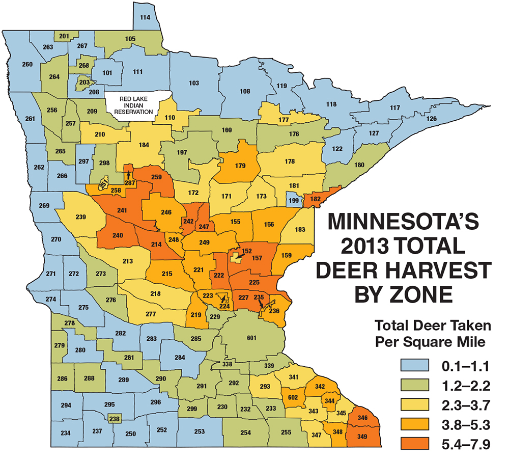 Minnesota Deer Hunting Forecast For 2014  Game Amp Fish