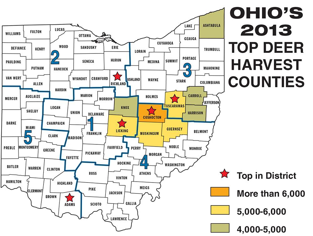 Ohio public hunting land maps my blog for Ohio dnr fishing license