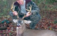 Ben Hough of Summerville killed this nice 10-point buck in Chesterfield County during the 2012 season.