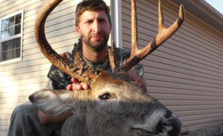Keith bras field killed this great buck in Humphreys Co. with a Mathews compound bow.