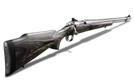 New School Just about any in-line muzzleloader is more than capable of punching lethal groups in