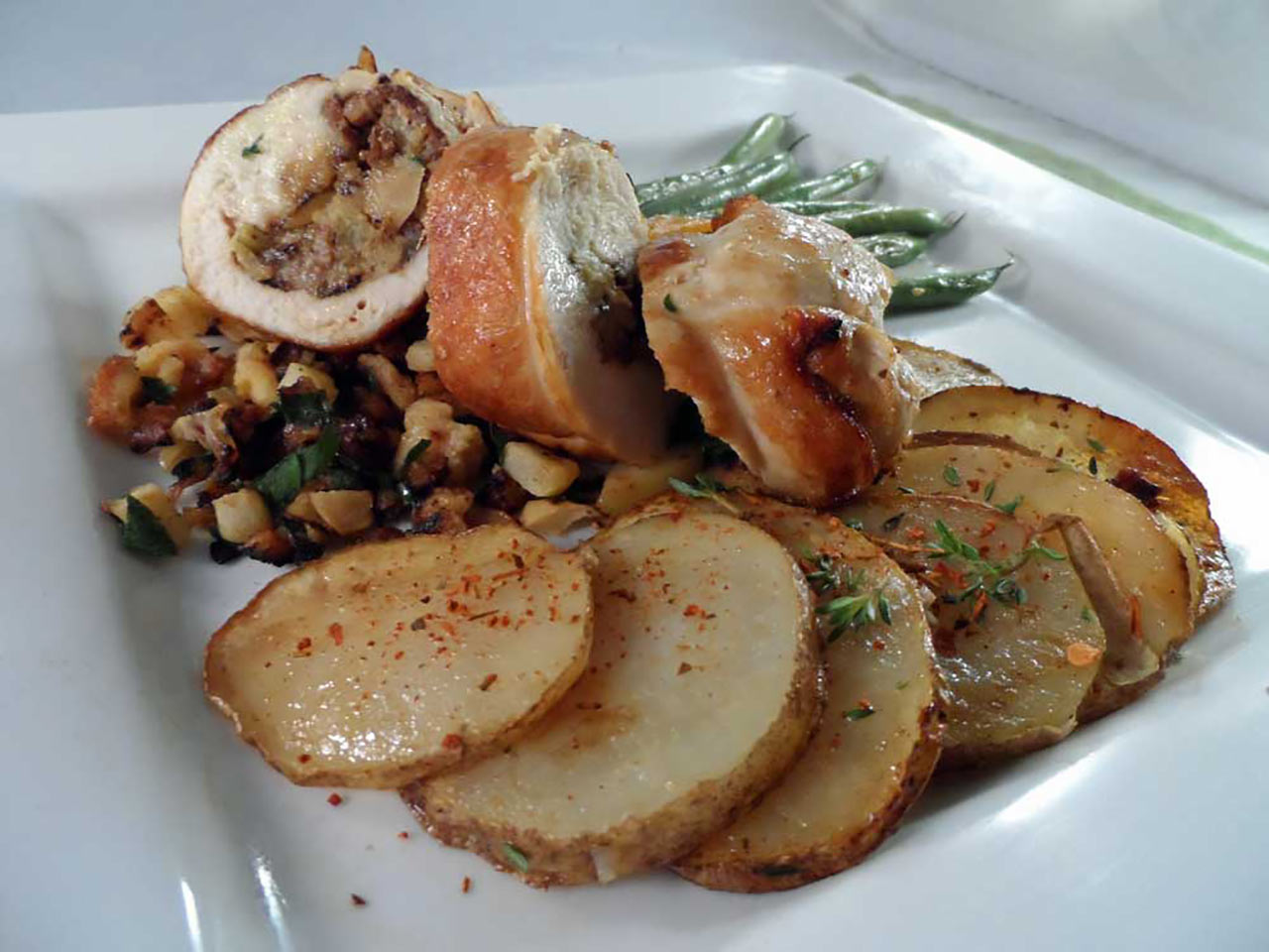 Stuffed Wild Turkey Breast Recipe
