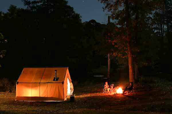 Build the Ultimate Eastern Deer C& with a Western-Style Wall Tent - Game u0026 Fish & Build the Ultimate Eastern Deer Camp with a Western-Style Wall ...