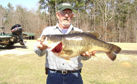 James Allen caught this 15.25-pound record on Calling Panther Lake.  With its temperate climate