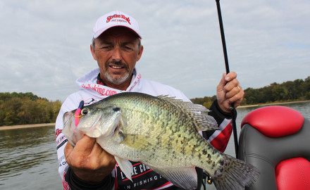 Fall brings a second crappie run of sorts, with many fish moving into creeks and bays.  From the