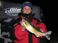 Michigan anglers enjoy many places and opportunities year 'round to fish for their favorite target, the walleye.