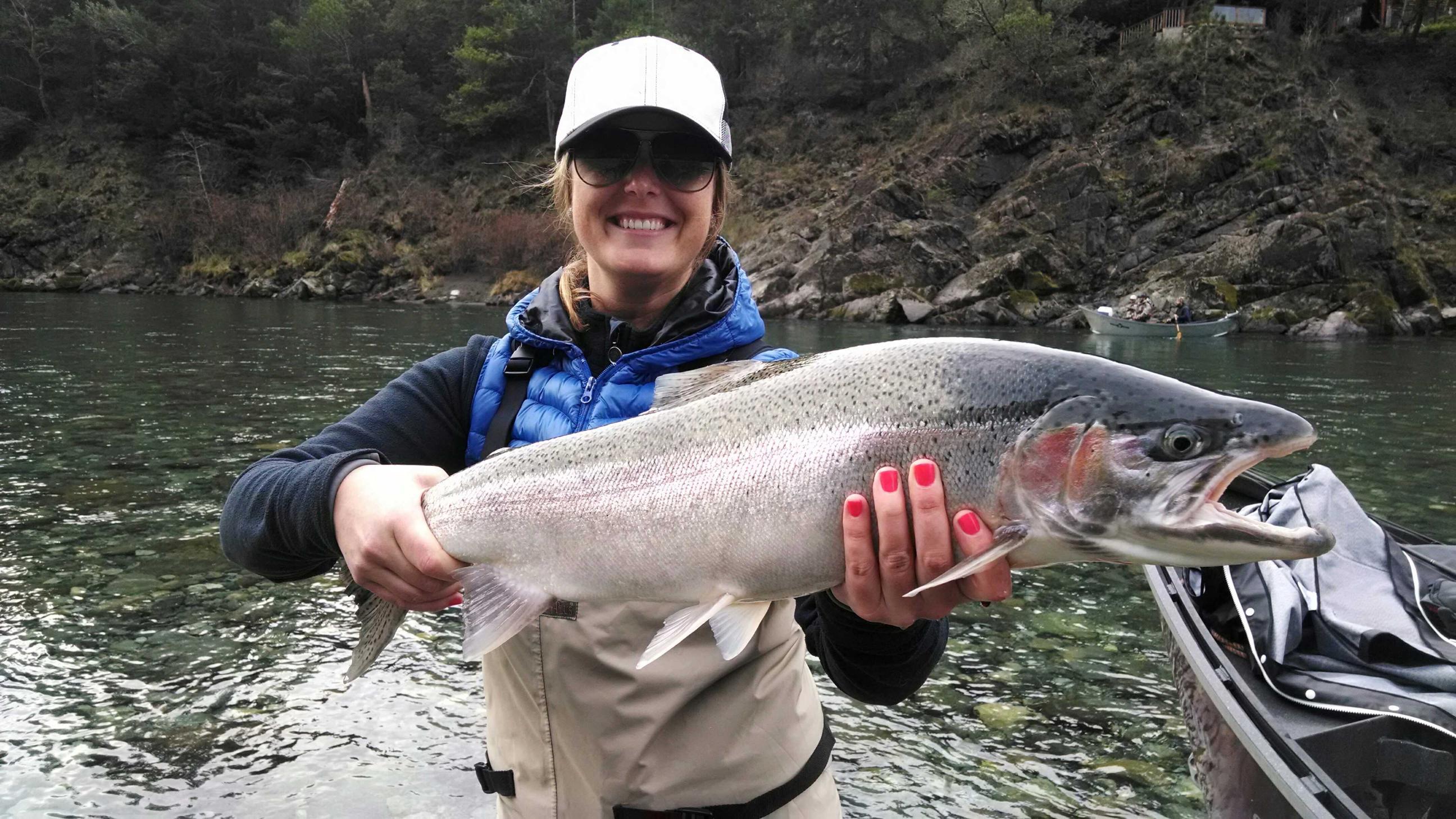 California steelhead game fish for River fishing games
