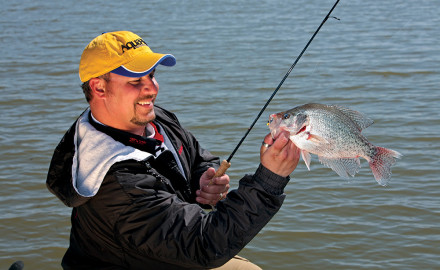 Crappies are abundant, fun to catch and extremely tasty, which is why they're so popular with