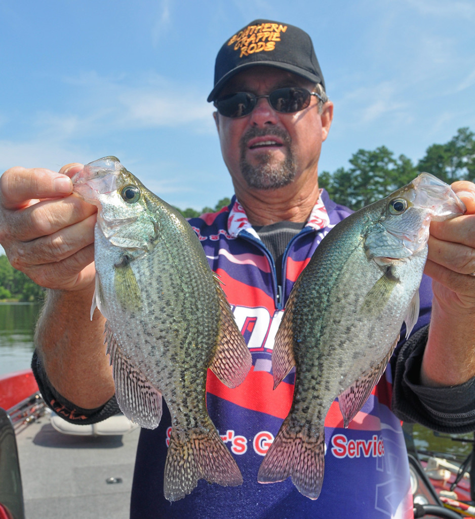 North carolina crappie forecast for 2015 game fish for Fishing forecast nc