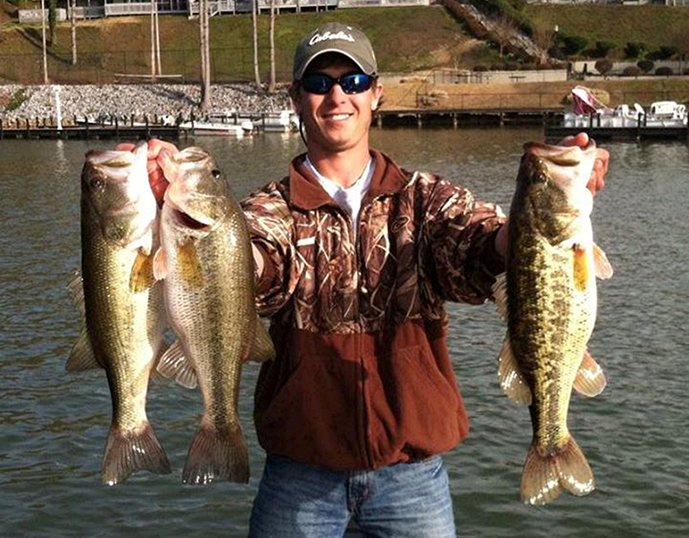 South carolina bass forecast for 2015 game fish for Lake murray sc fishing report