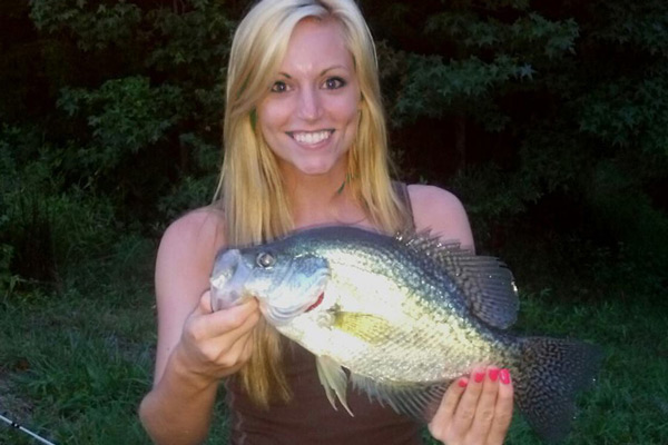 Virginia crappie forecast for 2015 game fish for Best crappie fishing times