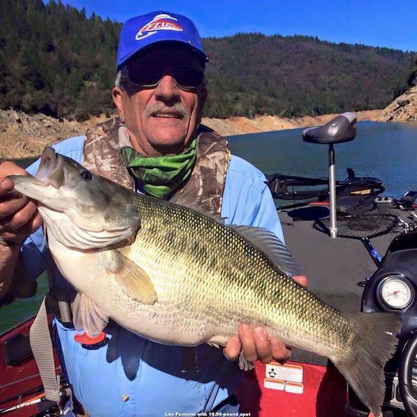 Nevada angler catches potential world record spotted bass for Nevada game and fish