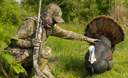 This decoy has been successful at luring in longbeards on a number of occasions.