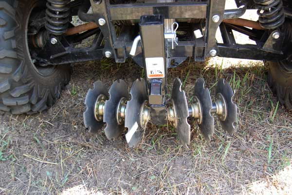Consider Groundhawg's Max disk/harrow as a relatively cheap alternative if you're unable to find used implements.