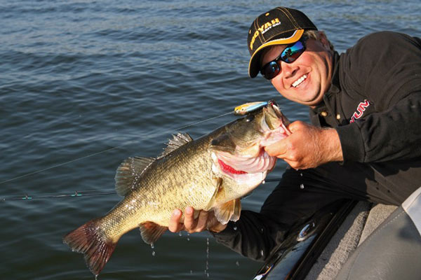 March signals to most bass anglers an almost insatiable itch to get back on the water, because they know throughout the Bluegrass State, both largemouth and smallmouth are waking from their long winter naps, and they're hungry.