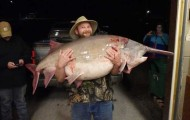 Missouri Angler Catches 140-Pound State Record Paddlefish