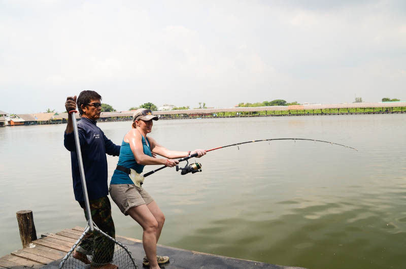 an angler's journey to thailand: catching the mekong giant catfish, Fishing Rod