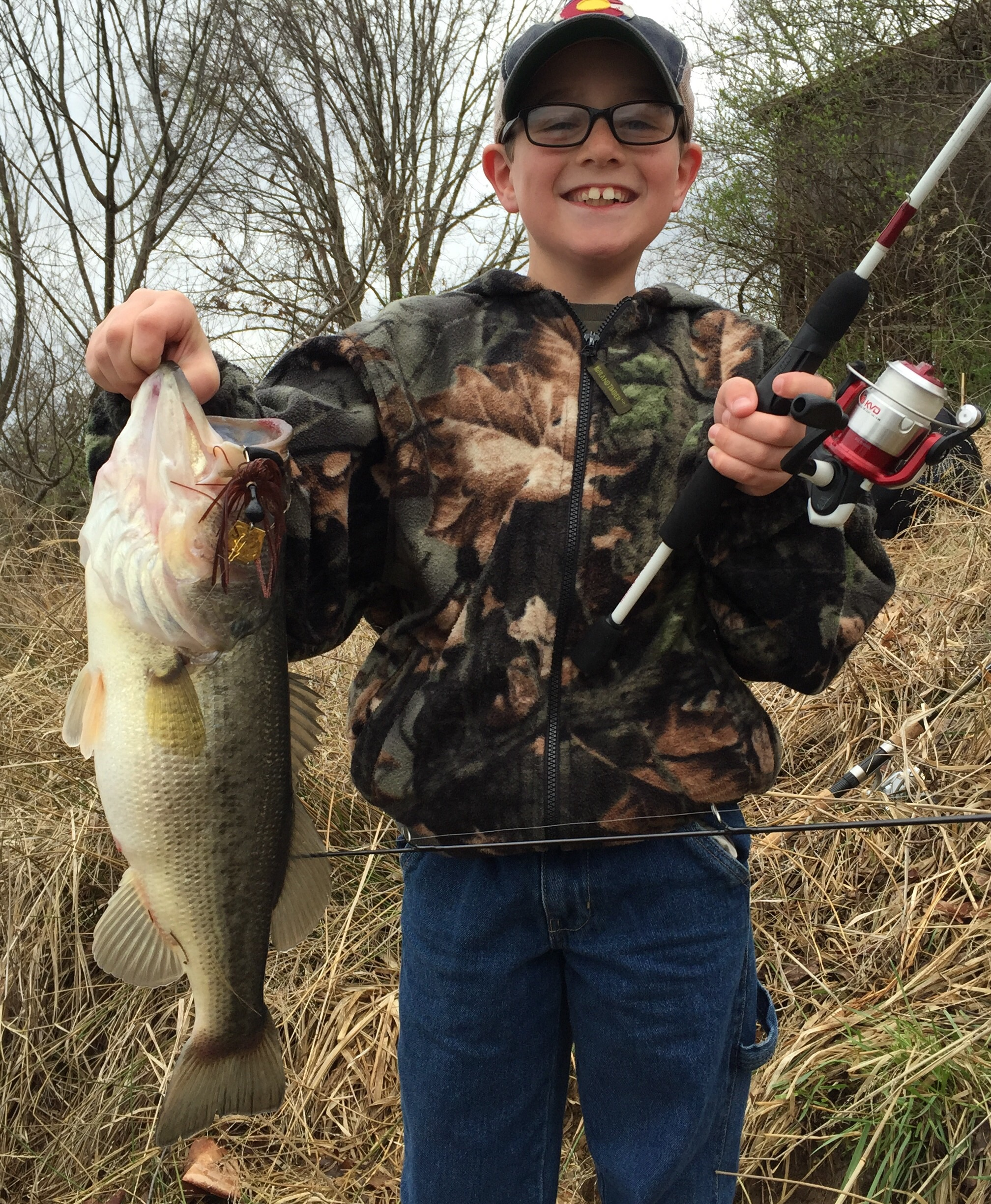 Spring largemouth in illinois game fish for Illinois game and fish