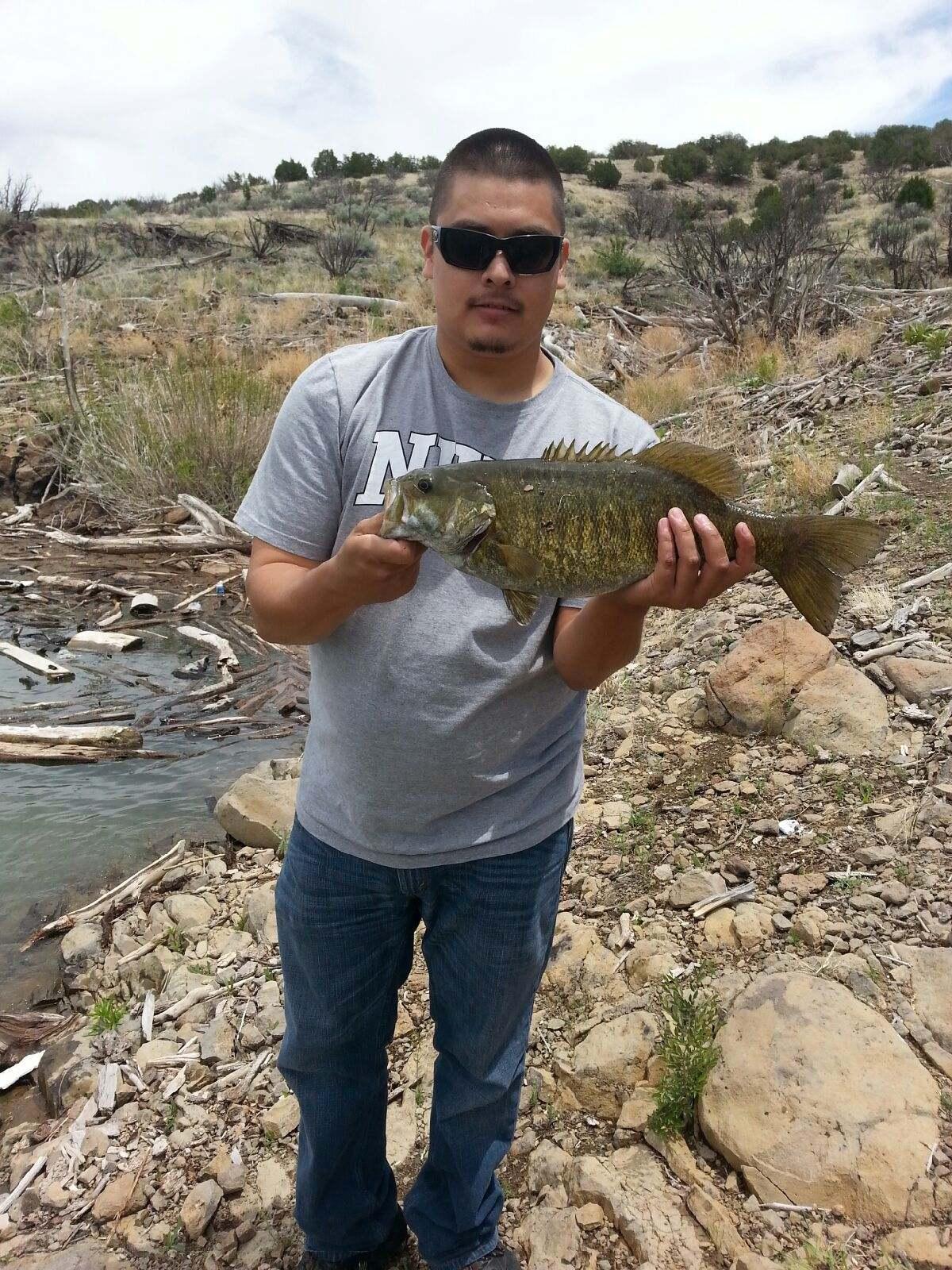 Cochiti lake bass 19 5 inches pounds game fish for Cochiti lake fishing