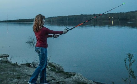 When the sun sets, the rules for catfishing change.