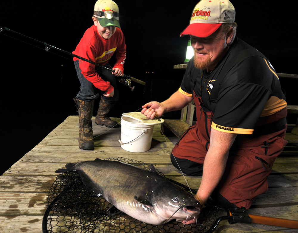 North carolina catfish forecast for 2015 game fish for Nc fish and game
