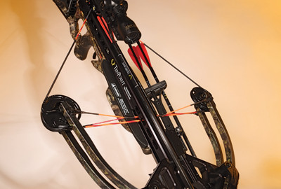 TenPoint excels at their cocking options.  This bow had the stock-mounted ACUdraw 50, which houses