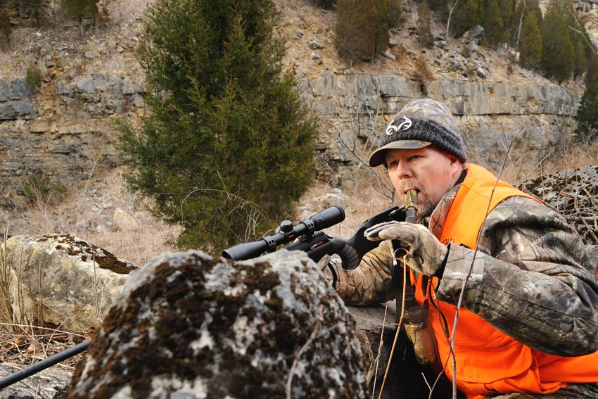 Though using grunt calls and rattling are often considered an Eastern-whitetail ploy, they can also bring results on Northwestern mule deer, Columbia black-tailed deer and Western whitetails.