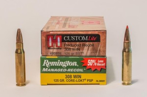 By limiting the recoil impulse of common deer hunting cartridges, Hornady and Remington have developed very effective and soft shooting deer loads that work.